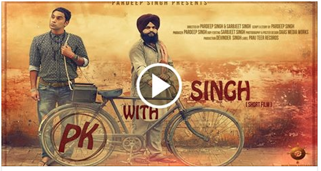 PK with SINGH ! New Punjabi Short Film 2015 (MUST WATCH JI)