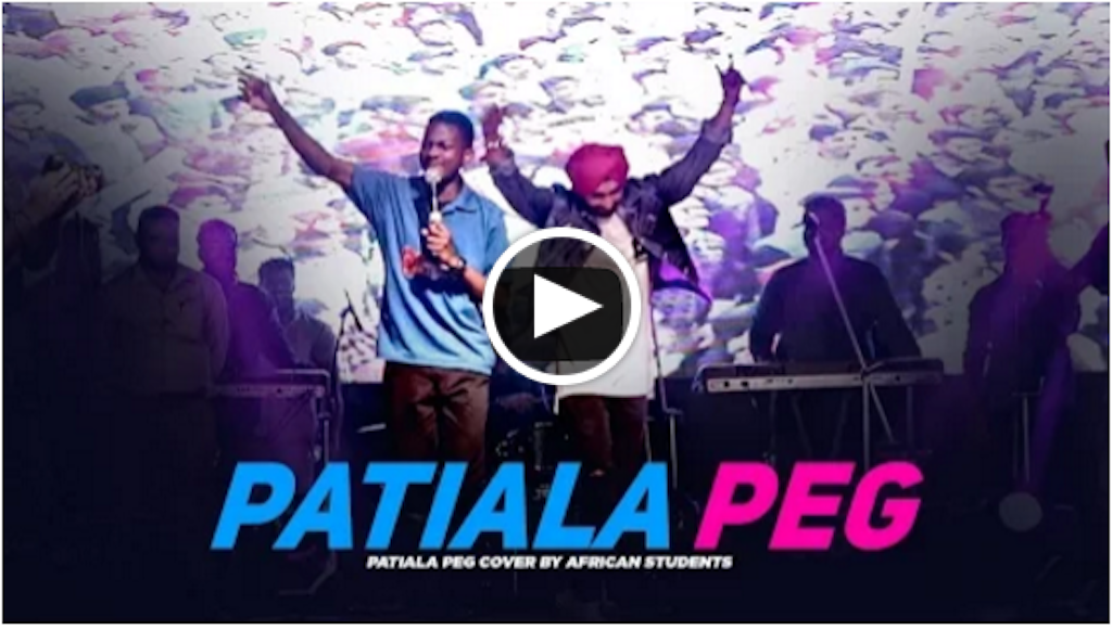 Patiala Peg by African Students- CT GROUP of Institutes